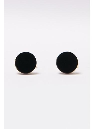 Altınyıldız Classics Kol Düğmesi 4A3820200046 Siyah